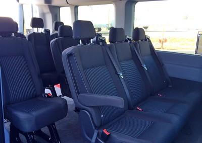12 Passenger Van seats
