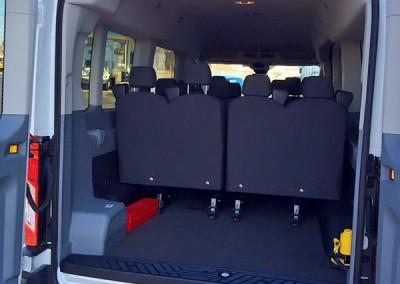 12 Passenger Van back